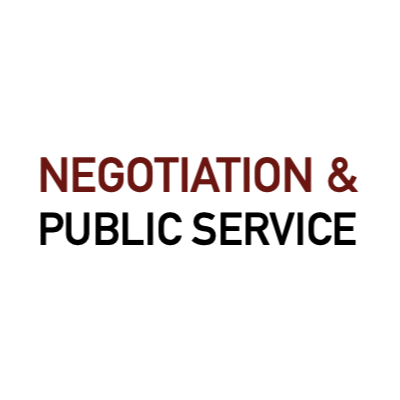 Negotiation and public service